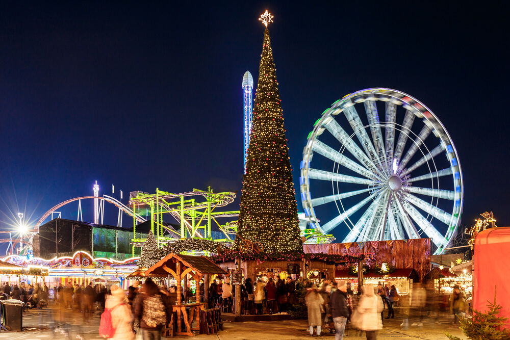 Christmas fair in Hyde park-WinterWonderland