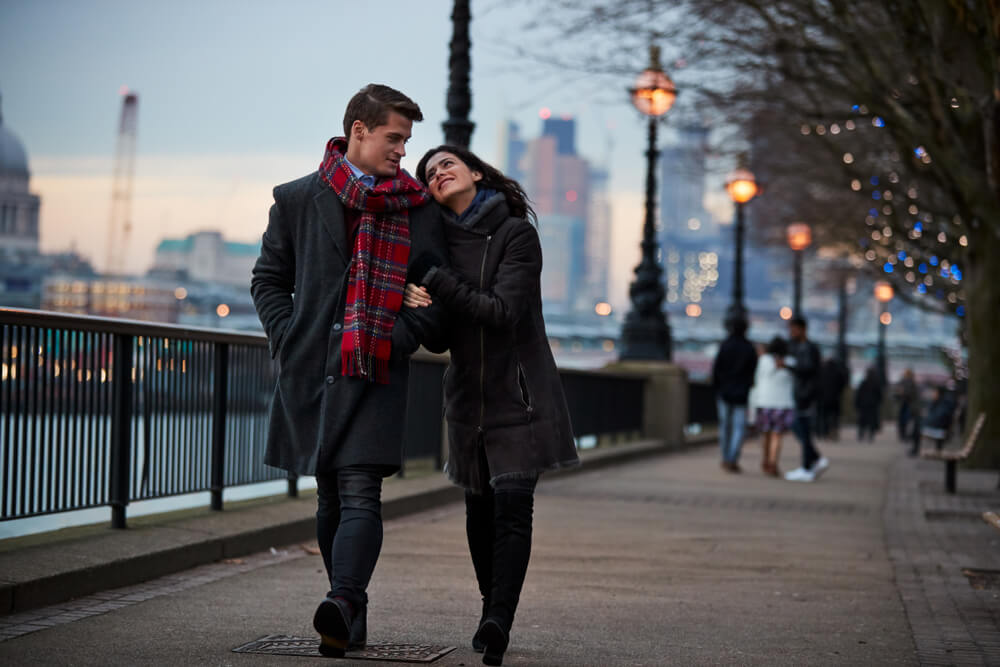 couples in london